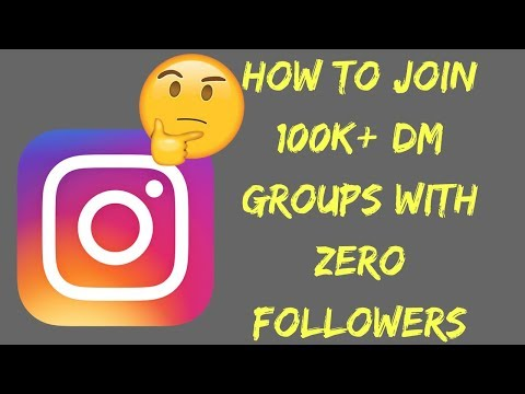 Join 100k+ DM Groups With ZERO Followers! (FOR FREE)