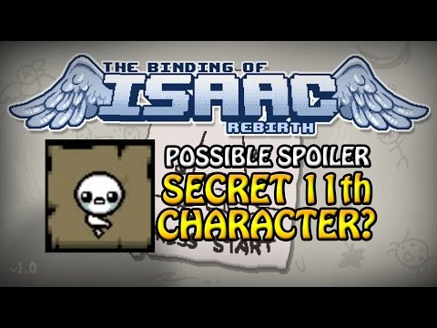 The Binding of Isaac: Rebirth, Secret 11th char...?