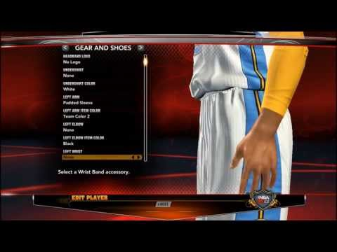 NBA 2K13 Denver Nuggets - Updated Player Faces And Tattoos