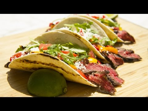 How-To Make Carne Asada Tacos | Solaire Anywhere Portable Infrared Grill | BBQGuys.com Recipe