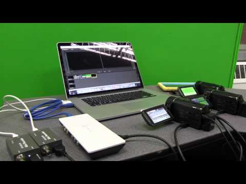 How to use the iPad as a wireless Video Camera for Wirecast Pro