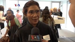 Menteri Susi Raih Peter Benchley Ocean Award - Liputan Berita VOA