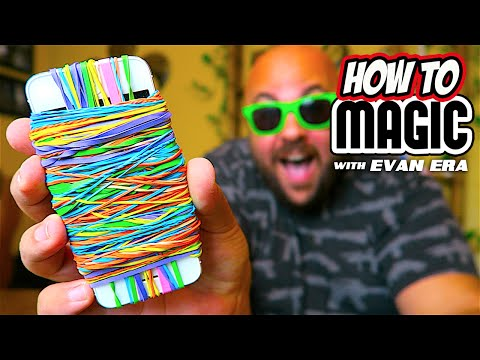 10 EASY Rubber Band Magic Tricks!