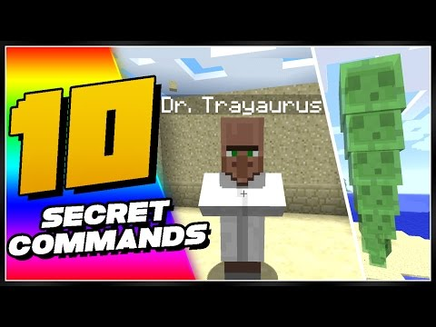 10 Secret Minecraft Commands You Didn't Know Existed