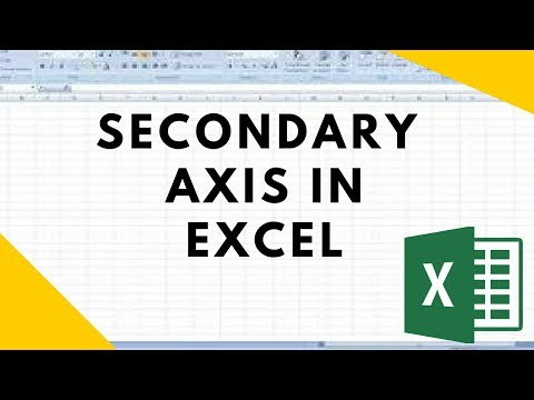 How To Add Secondary Axis Excel 2016; Two Axis Chart Excel 2016