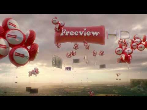 Freeview HD Floating Tellies
