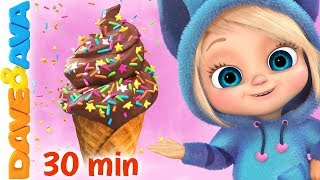 🍨The Ice Cream Song | Baby Songs and Nursery Rhymes | Dave and Ava🍨