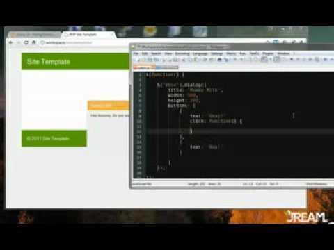 JQuery UI Tutorial   Dialog