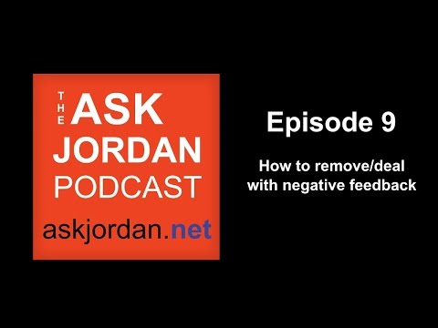 Remove Negative Feedback - Amazon seller help