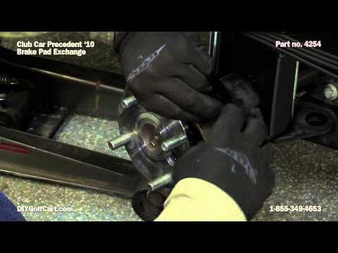 Club Car Precedent Brake Shoes | How to Install on Golf Cart