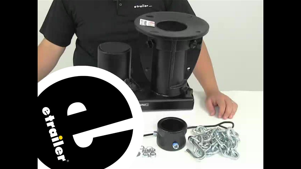 etrailer | Convert-A-Ball Gooseneck and Fifth Wheel Adapters - Adapts Trailer - CAB-C5GX1216 Review