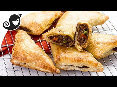 Vegetable Pasties with Vegan Mince | Vegan/Vegetarian Recipe