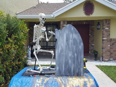 Tombstone Carver Animated Halloween Prop Final