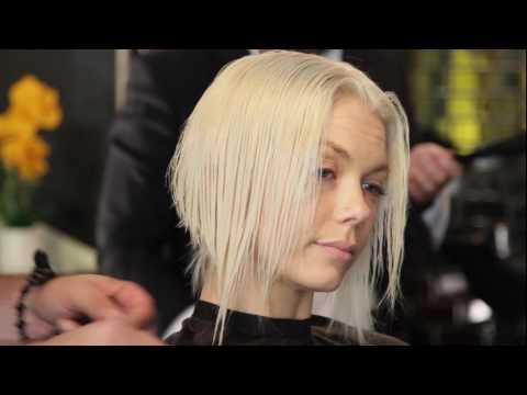 Razor Hair Cuts: Abstract A-Line Bob and Long-Layer Shag