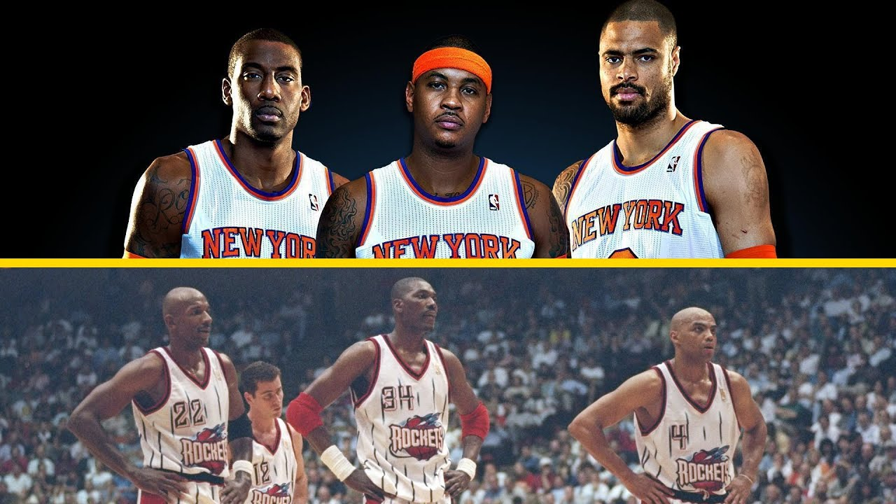 """The 7 Most Disappointing """"Big 3s"""" in NBA History"""