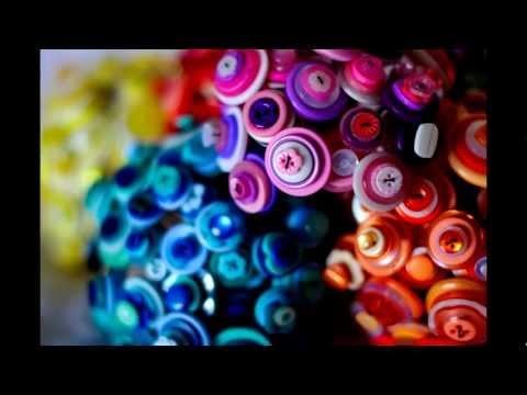 How to make a button bouquet