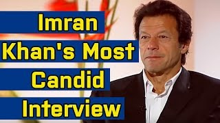 Impending Pakistan PM Imran Khan's Rare Interview -Talks About Cricket, Politics & Women in his Life