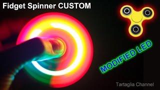 Fidget Spinner LED RGB - CRAZY STROBE LIGHT - Modified from the original