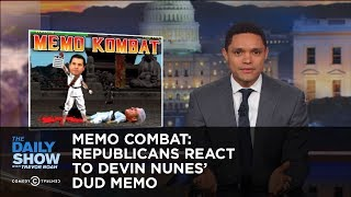 Memo Combat: Republicans React to Devin Nunes