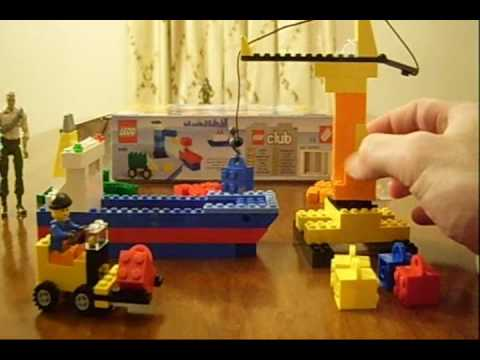 Build Your Own Harbor Lego Set 6186 Review