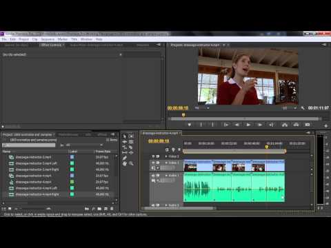 Adobe Premiere Pro CC Tutorial | Normalizing Audio And Making Sample-Level Edits