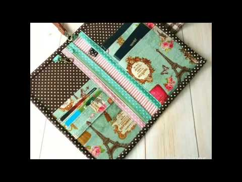 Passport Holder by Chezvies on Etsy