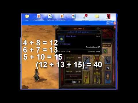 Diablo 3 DPS Calculator - How To