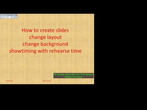 POWERPOINT SETUP SHOW,TIMING SET,LOOP IN SLIDESHOW