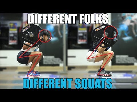 Why your Squat looks different than others   How Anatomy affects Squat Form