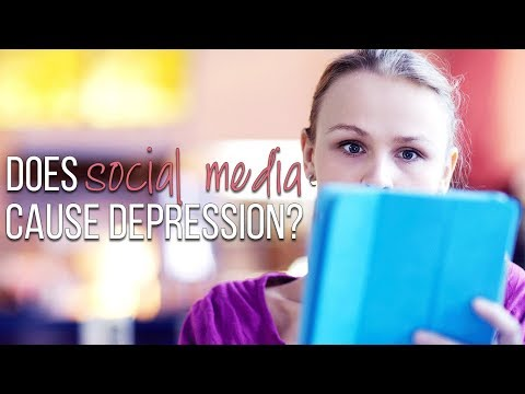 Does Social Media Cause Depression and Anxiety? | Tips for Self Care While Using Social Media