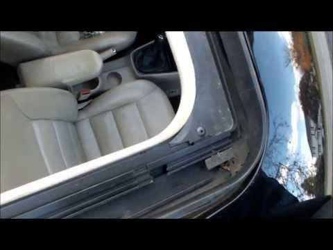 Volkswagen Jetta Leaky Sunroof Wet Floors