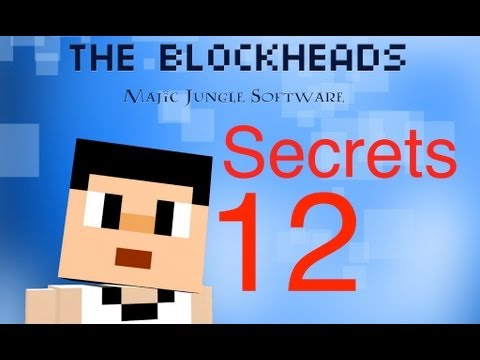 The Blockheads - Secrets 12 (Flying Boat, Infinite Water Generator, Shark Trap)