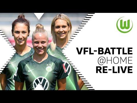 VfL-Battle@Home mit Goeßling, Wolter & Doorsoun [Re-Live] | VfL Wolfsburg Frauen