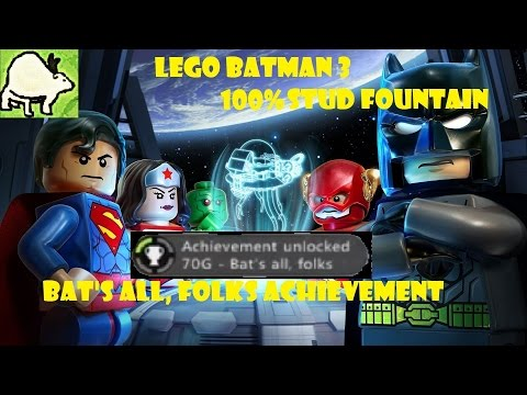 Lego Batman 3 100% Stud Fountain |