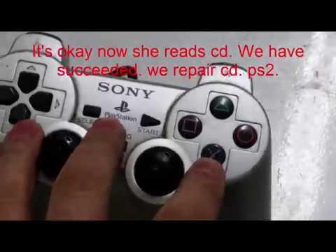 ps2 repair no disk cd read