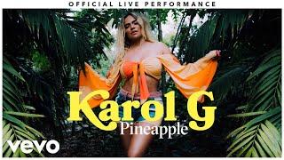 "Karol G - ""Pineapple"" Official Live Performance | Vevo"