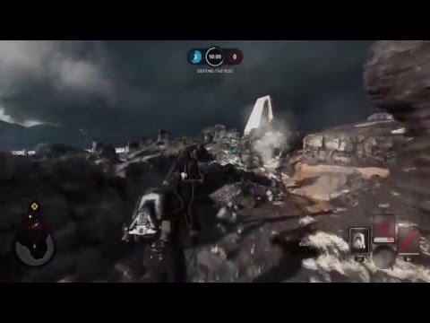Full Round of Drop Zone on Sullust - Star Wars Battlefront NO EDITS