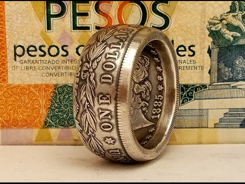 How to Make a Morgan Dollar Coin Ring updated Methods