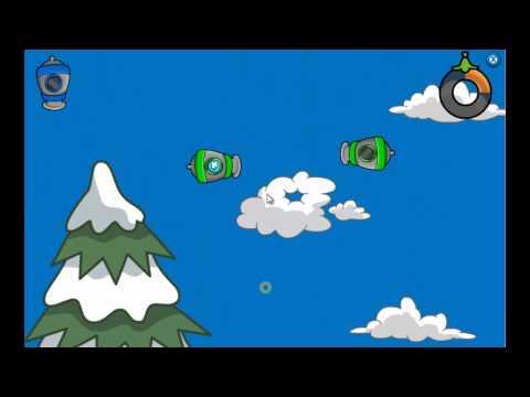 Club Penguin - Puffle Launch Blue Sky Level 2