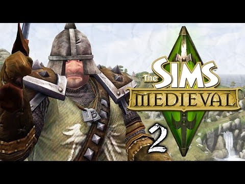 Let's Play The Sims Medieval - Part 2 - To The Stocks!