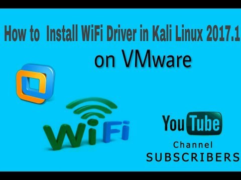 how to install wifi driver in kali inux 2017.1( Hindi )
