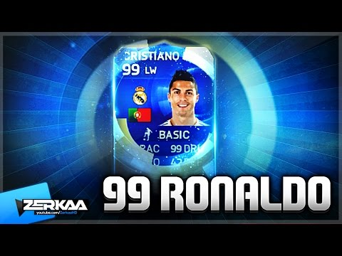 TOTY 99 RONALDO IN A PACK!!! | FIFA 15 TOTY PACK OPENING