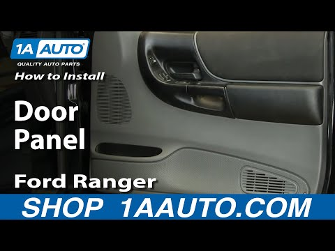 How To Install Remove Door Panel Ford Ranger 93-10 1AAuto.com