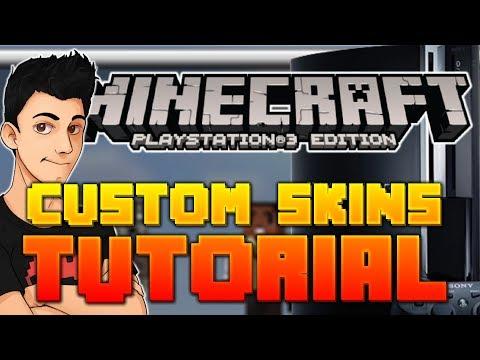 How to Get Custom Skins on Minecraft Ps3 (NO JAILBREAK NEEDED)
