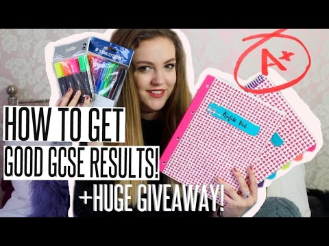 HOW TO GET GOOD GCSE GRADES - Revision Tips | BeautySpectrum