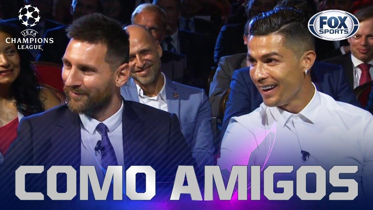 La convivencia que tuvieron Messi y Cristiano