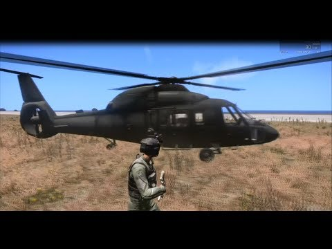Arma 3: How to Land/Fly a Helicopter