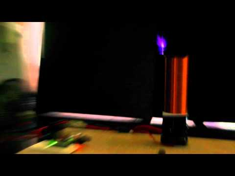 Simple Musical Tesla Coil with Arduino Nano and OCXi