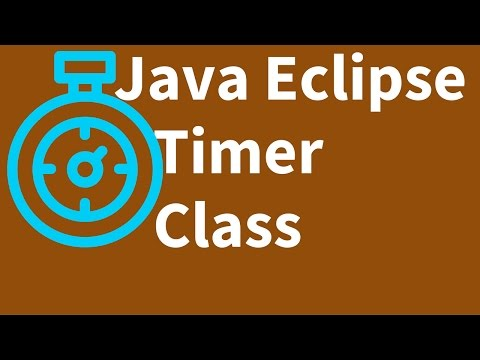 Java - How To Use Timer Class In java Using Eclipse [ with source code ]