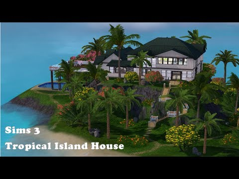 Sims 3 Tropical Island House